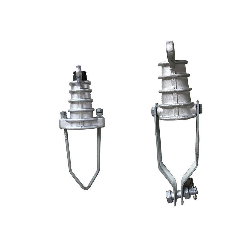Wedge type high quality tension cable strain clamps