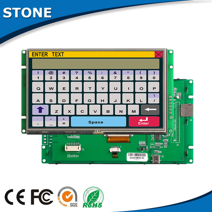 "7 inch LCD/TFT panel/display,7""800*480 sunlight readable"