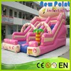 New Point PVC trampoline Amusing Funny Inflatable Slide for kids