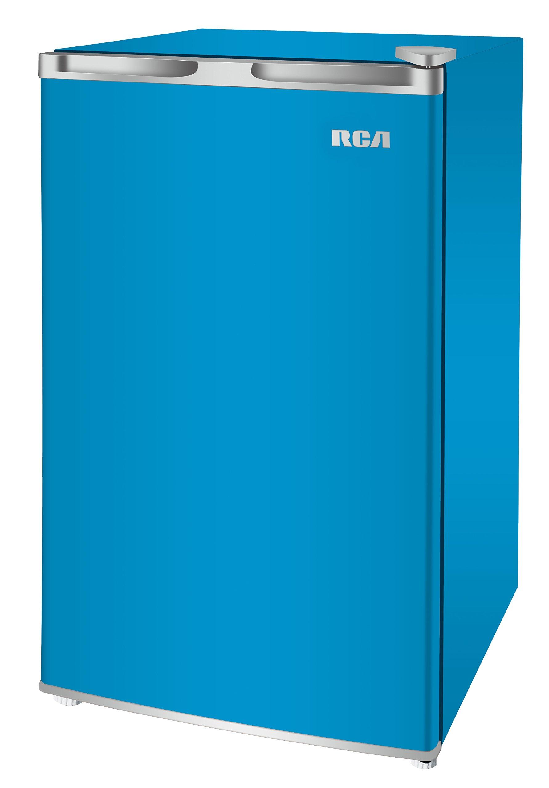RCA RFR321-FR320/8 IGLOO Mini Refrigerator, 3.2 Cu Ft Fridge, Blue