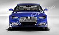 S6 Style Car Parking Sensor Black Front Bumper Grille For Audi A6 ...