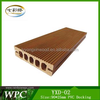 Low Price Waterproof Plank Floor Pvc Indoor Wpc Flooringpvc Deck
