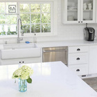 white desktop quartz countertops prices kitchen top