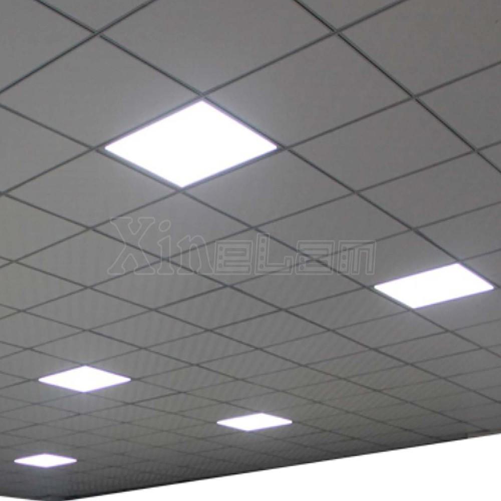 Eye Shield No Flash Glare Ultraviolet Ceiling Led Flat Panel Lights 600x600 Light Panels