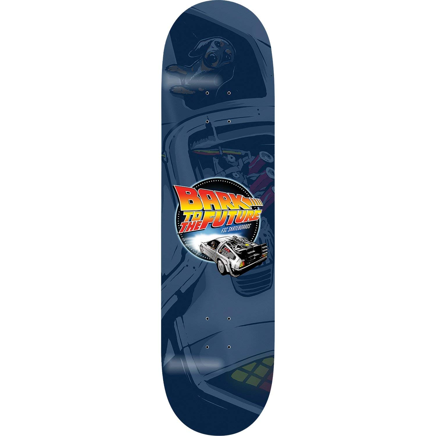 "FSC Bark to The Future Skateboard Deck - 8.25"" x 32"""