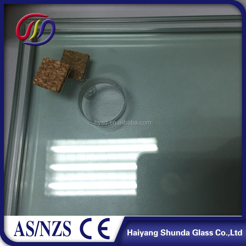 Beijing Haiyangshunda 6mm Polished Edge/Flat Edge Tempered Glass Price