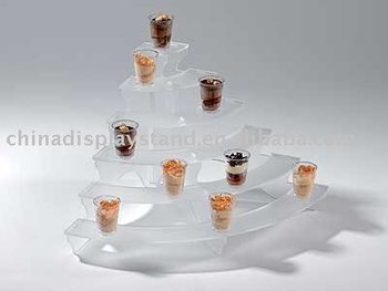 Acrylic Buffet Display,6 Tier Display Stand,Acrylic Dessert ...