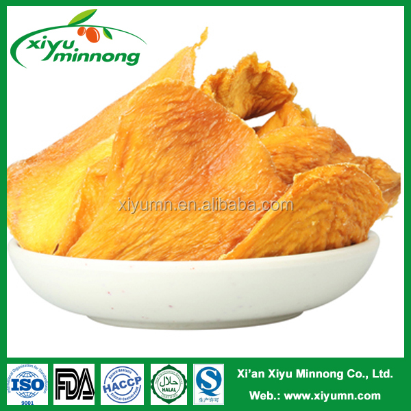 Organic natural dried fruits philippine dried mango