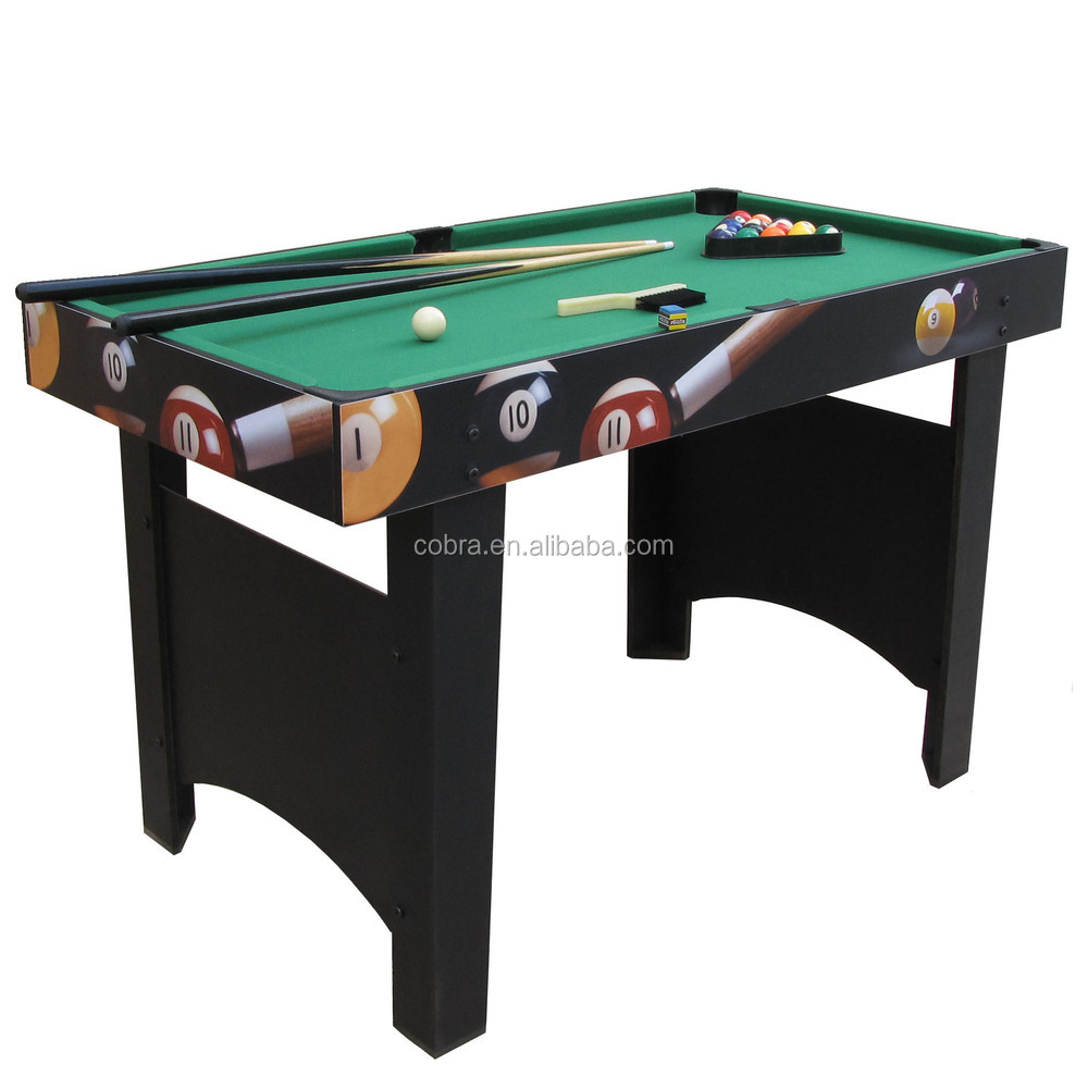Wonderful Best Selling Kids Mini Billiard Table With Long Legs,Colorful Printed Box Pool  Table For