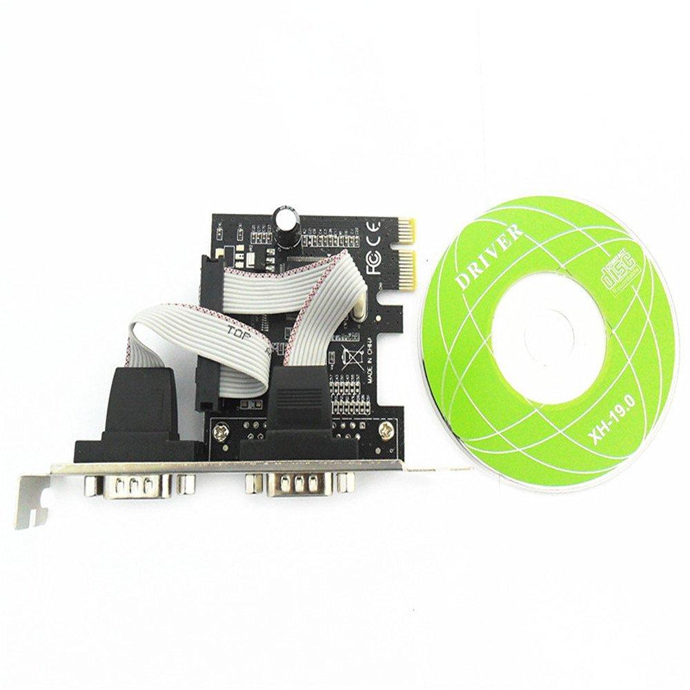 Syba (sd-lp-mcs1s) low profile 1-serial port pci card, moschip mcs9820.