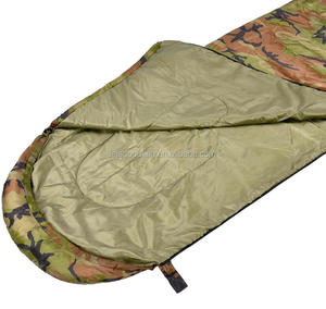 Eco-Friendly Heavy Duty Tactical Army Military Camouflage Mummy Sleeping Bag