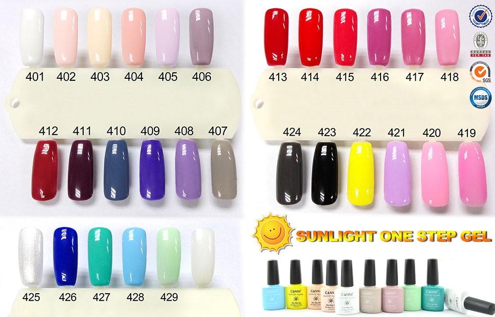 51263a Manicure Canni Nail Use One Step Gel Nail Polish 7.3ml Uv ...