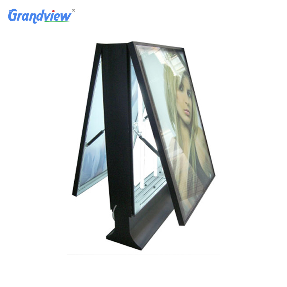 Outdoor Advertising Stands Double Sided Poster Frame Led A4 Lightbox ...