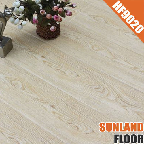 natural oak color HF9020 handscraped flooring laminate flooring manufacturers china