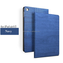 2017 Factory Wholesale Price Tree Texture Series PU Leather case for iPad Air1/2