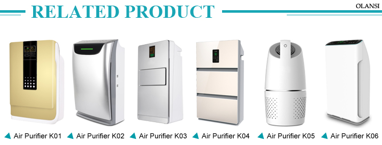 Wholesale Air purifier Olansi with filter PM2.5 with wifi function