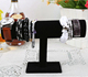 Black Velvet Bracelet T Bar Stand Jewelry Display Bangle Watch Display Stand
