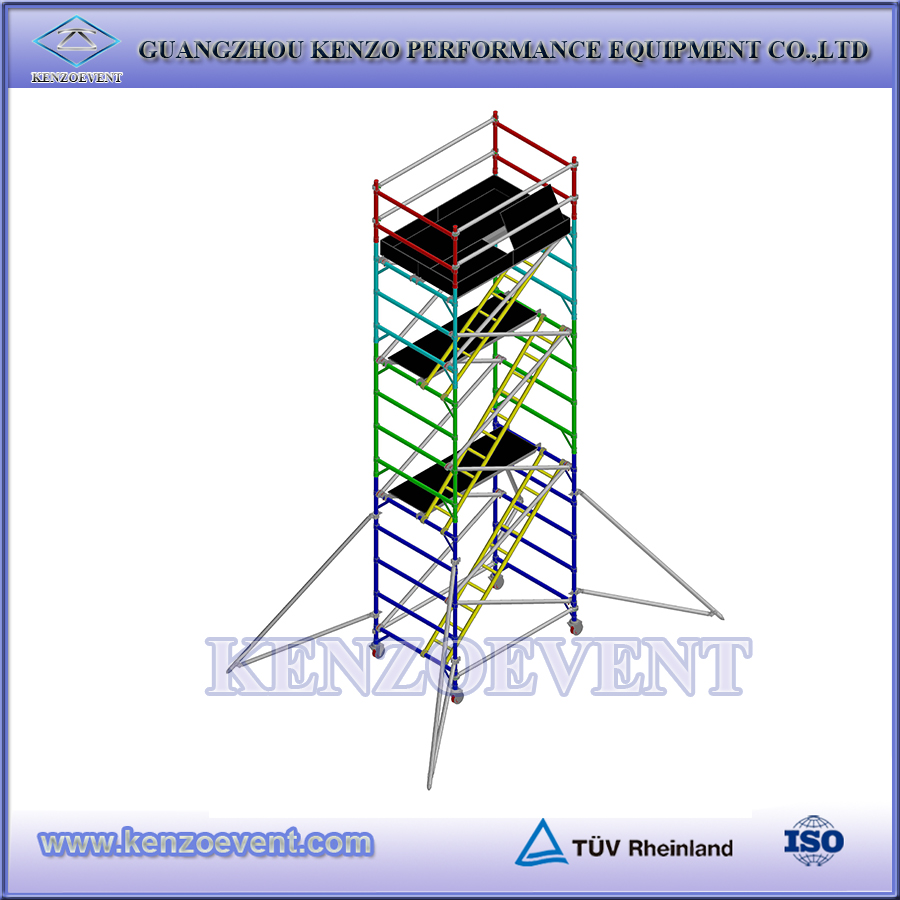 Used construction scaffolding cuplock scaffolding for sale
