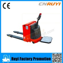 Low price electric hydraulic pallet mover/electric pallet truck sale