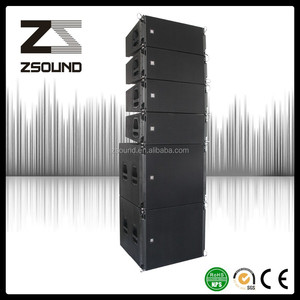 Instruments musical of double 10 inch line array neodymium speaker