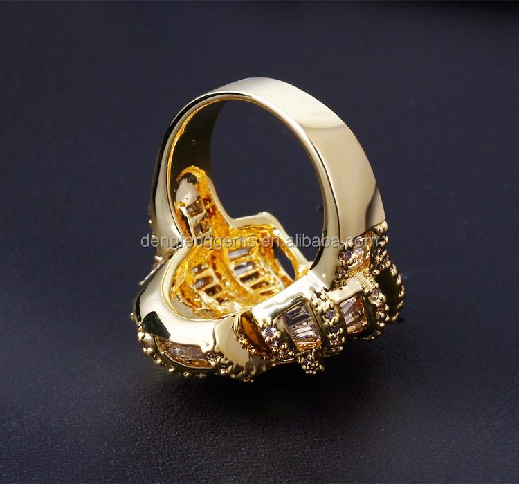 2017 new arrival jewelry dubai design la s finger ring 2 gram