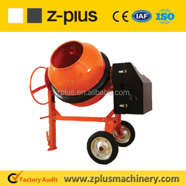 Mini Hand Operated 140L-260L JH150 Plastic concrete bucket mixer for sale