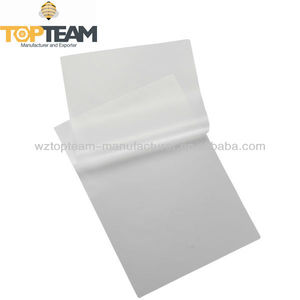 Picture PET A4 thermal transparent plastic laminating pouch film
