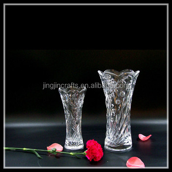 Crystal Glass Vase Flower Tall Vase Types Of Flower Vase For Home