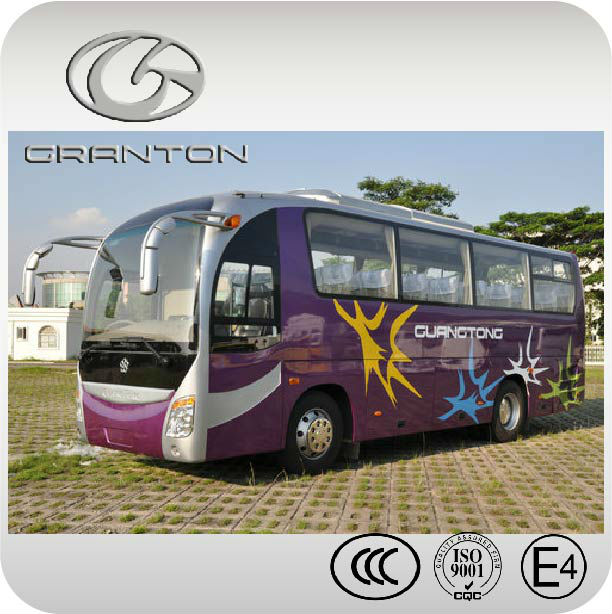 Euro 2 new style 9m luxury coach bus for sale aluminum body