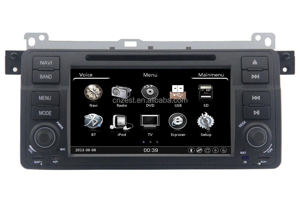 radio voiture pour e46 navigation syst me de navigation 2 din autoradio pour bmw e46 gps avec le. Black Bedroom Furniture Sets. Home Design Ideas