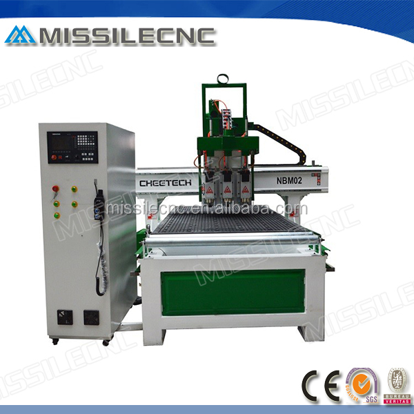 china hot sale 6kw Italy HSD air cooling spindle 1325 wood cnc router for furniture