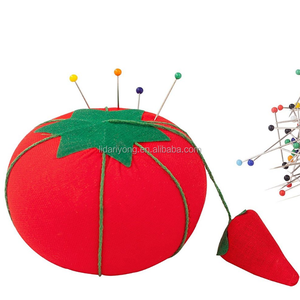 Sewing Needle Pin Red Tomato Pin Cushion