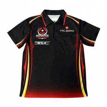 1cfe14b9 Custom Darts Polo Shirt Dart Jerseys Sublimation Darts Shirts - Buy ...