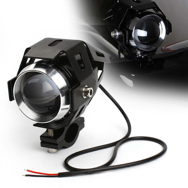 2016 U5 hot selling moto 30w 1500 lumen devil eye projector headlight