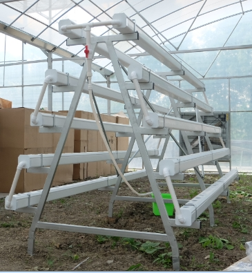 Skyplant Greenhouse Vertical NFT Hydroponic Growing System Aquaponics System