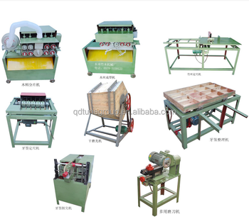 High-efficient Multi-sharpen Bamboo toothpicker production line