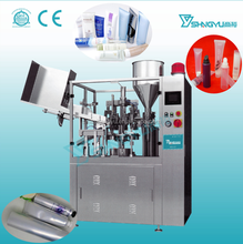 Cosmetic cream filling and sealing machine,automatic tube filling and sealing machine for chrisma/paste/ointment/glue/hair color