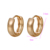 96095 Xuping Top Sell Huggies Earring   in All Seasons  with 18K Gold Plated  for Women
