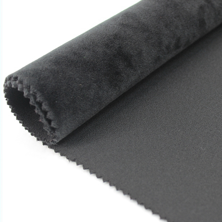100%Poly Fleece Bonded Jersey soft shell Waterproof Fabric