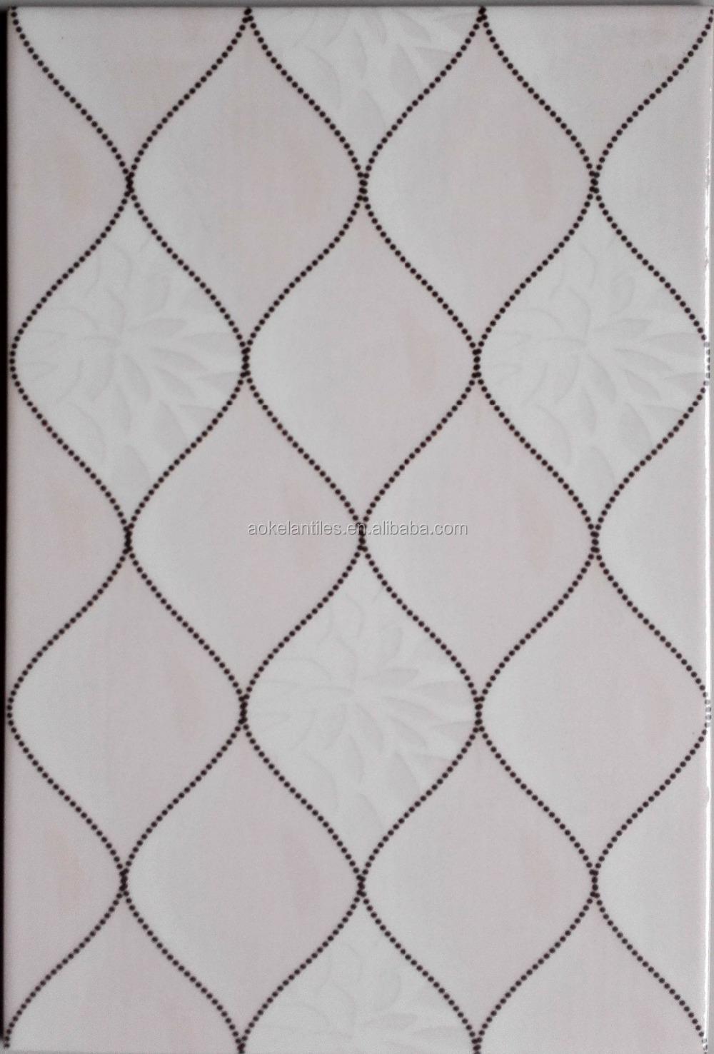 20x30 Excelente Diseño Interior Azulejos 3d Cerámica Pared Del ...