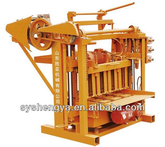 QTJ4-45 libyaconcrete block machine/cheap price/high profit