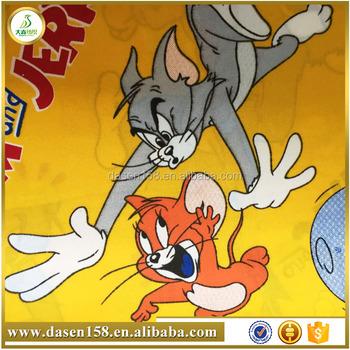 Tom E Jerry Dos Desenhos Animados Projeto Tecido De Poliester