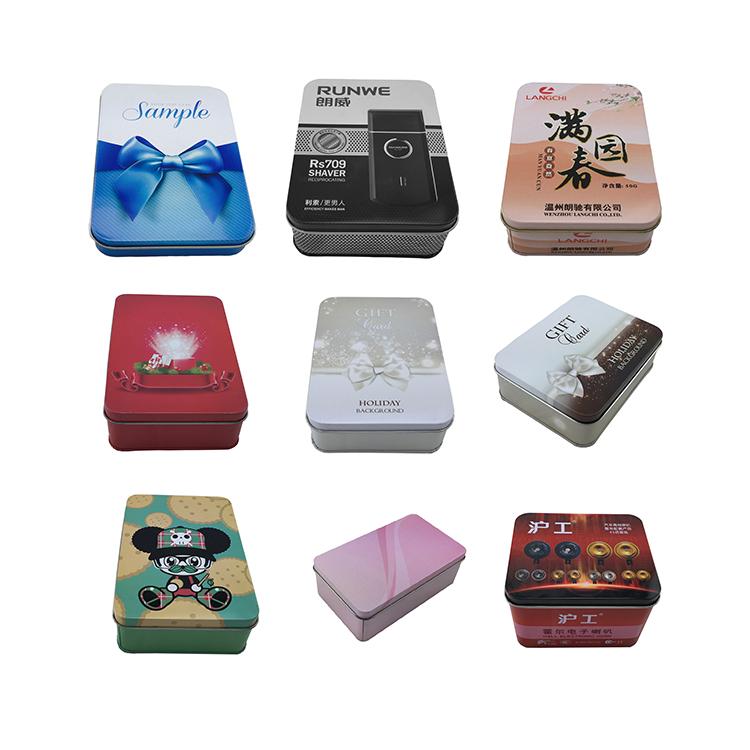 China Angebot Konkurrenzfähiger Preis Neues Design Rechteckige VerpackungTin Box