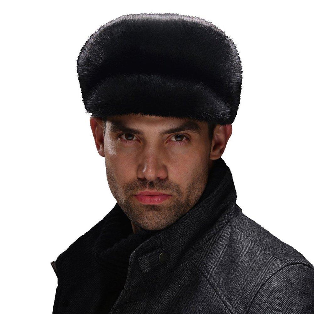 bc1866db7bd10 Get Quotations · Men s Mink Full Fur Sailor Hat