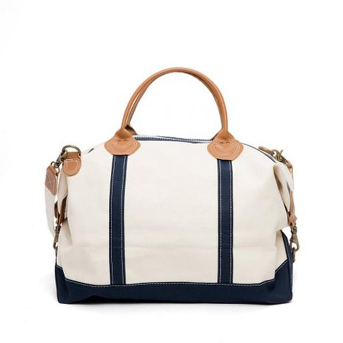 78719515d0 White Canvas Duffle Weekend Bag - Buy White Canvas Duffle Bag ...