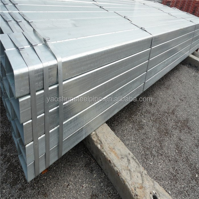 4x4 Galvanized Square Metal Fence Posts