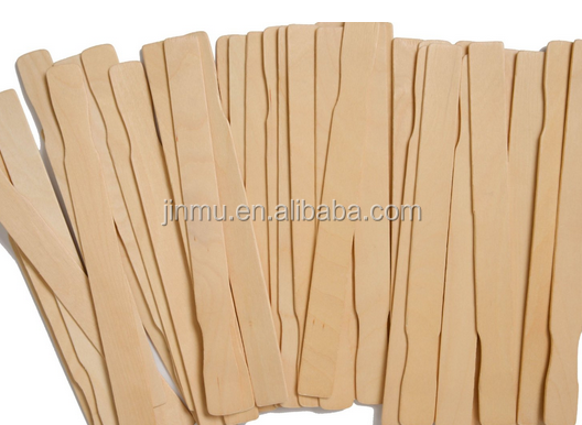 high quality wood paint paddle from chinese manufacturer