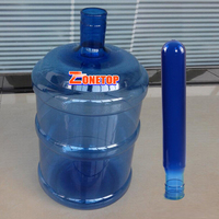 High Quality 55mm Neck Size 700G 730G 750G 5Gallon Plastic PET 5 Gallon Bottle Preform