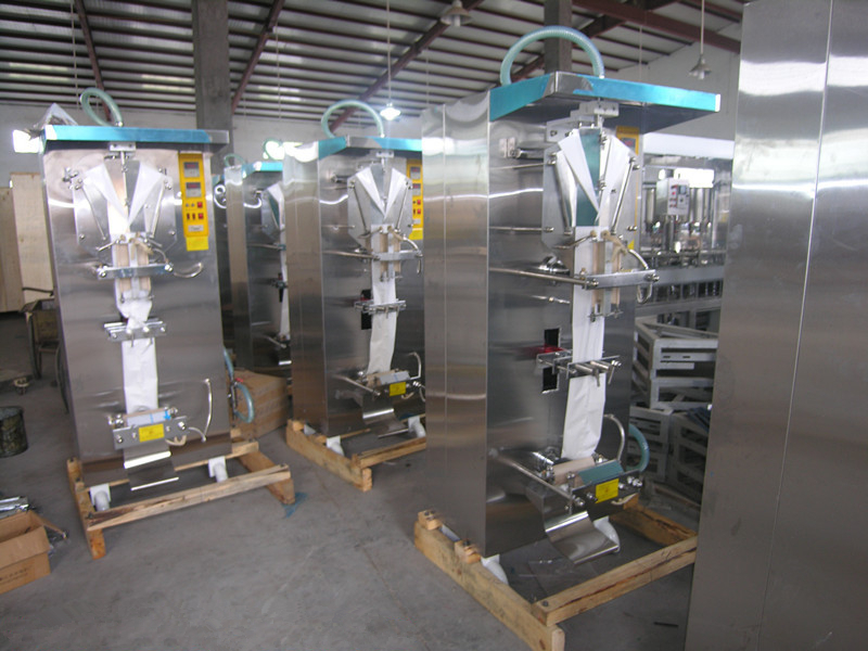 Automatic bag liquid filling sterile sealing machine