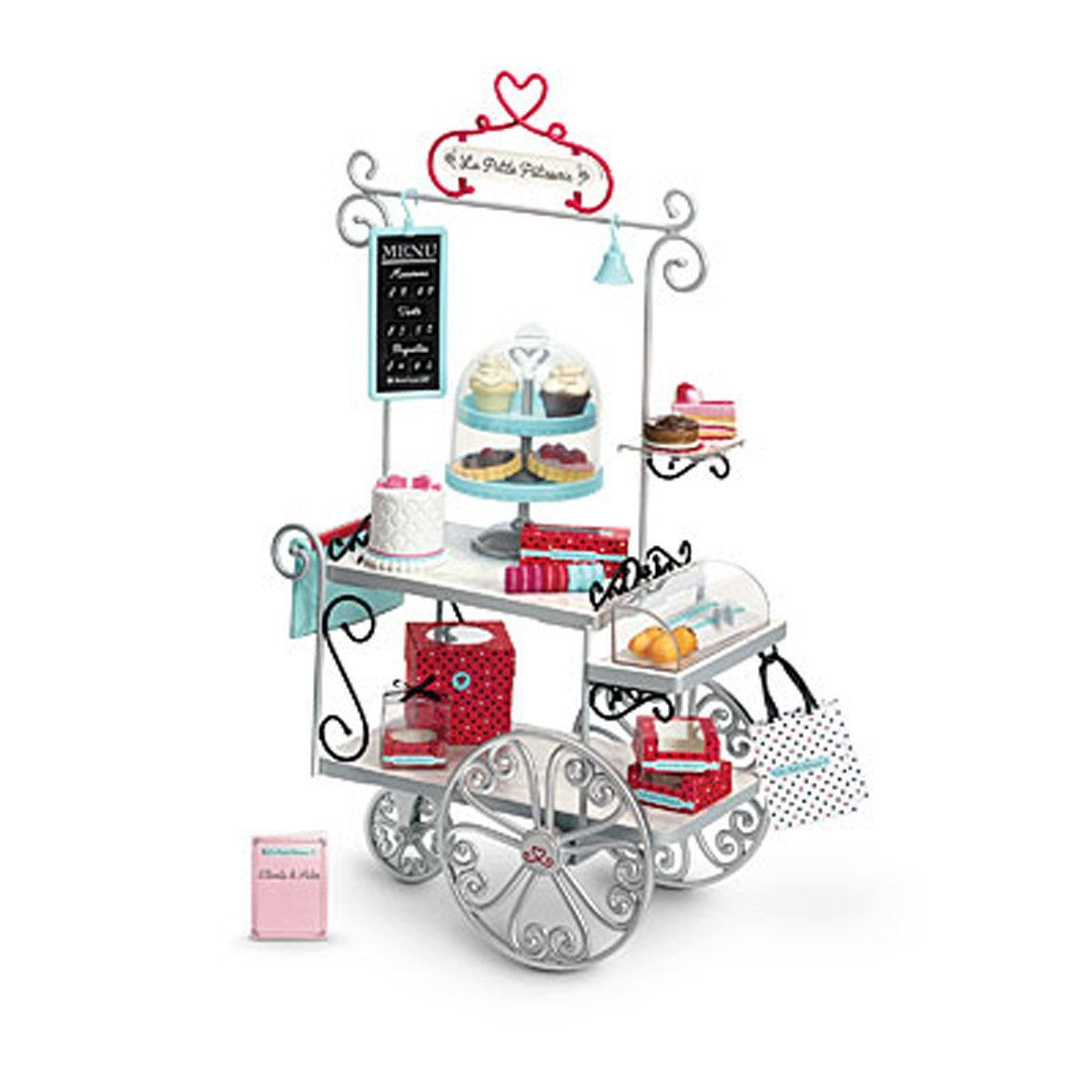 American Girl Grace - Grace's Pastry Cart for Dolls - American Girl of 2015